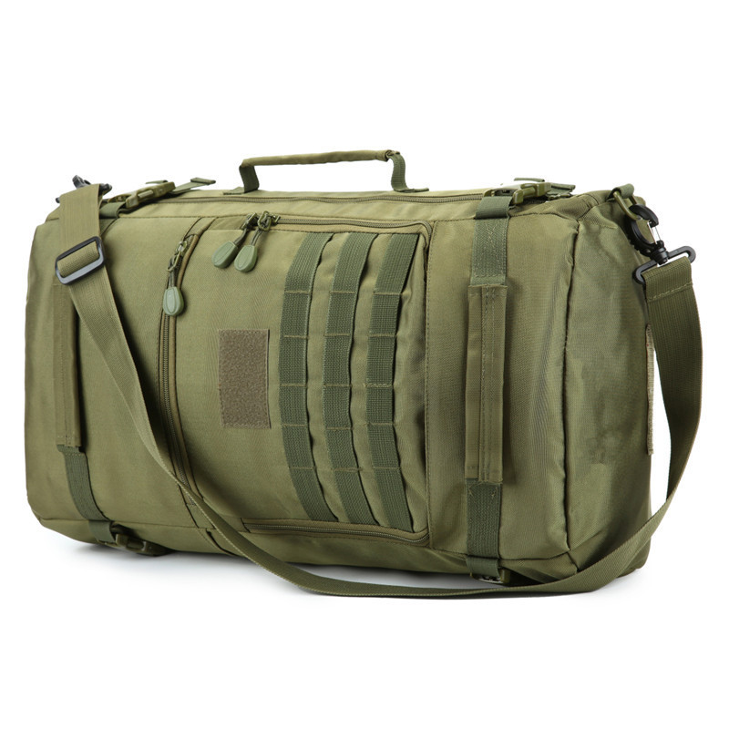 50 litres Nylon Travel backpack bag multi-purpose male military backpacking large-capacity best backpack casual free holograms
