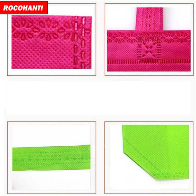 47158078e4 Online Shop 5x Wholesale Cotton Shopping Bag Foldable Reusable Grocery Bags  Convenient Totes Bag Shopping Cotton Tote Bag Mixed Colors
