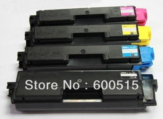 TK590 TK593 TK594 Color toner cartridge Compatible Kyocera FS-C2026/2126MFP/5250DN B/M/C/Y 4PCS/LOT