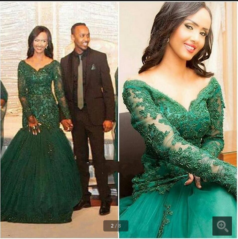 Sexy chaming green Prom Dresses 2016