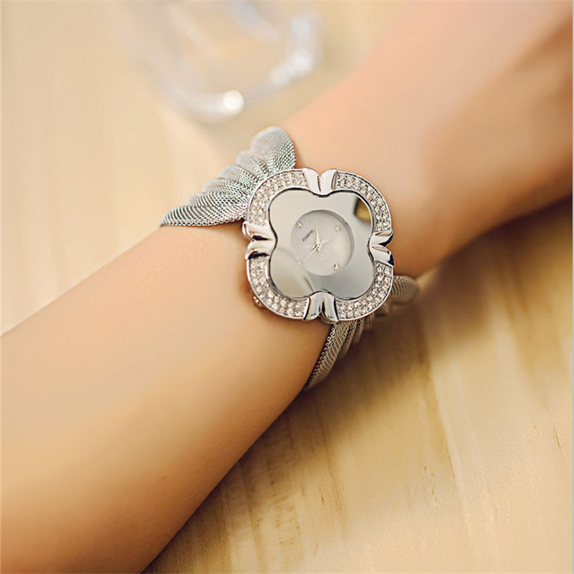 Lady Diamond Bracelet Quartz Watch