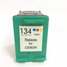 1pcs Good  quality C9363HE remanufactured for hp 134 ink cartridge