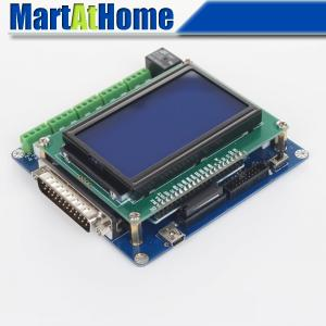 Intelligent 5 Axis CNC Breakout Board Interface w/ LCD Digital Display Support Mach3/EMC2/KCAM4 #SM613 @SD intelligent automaticly lcd digital display lux meter free shipping