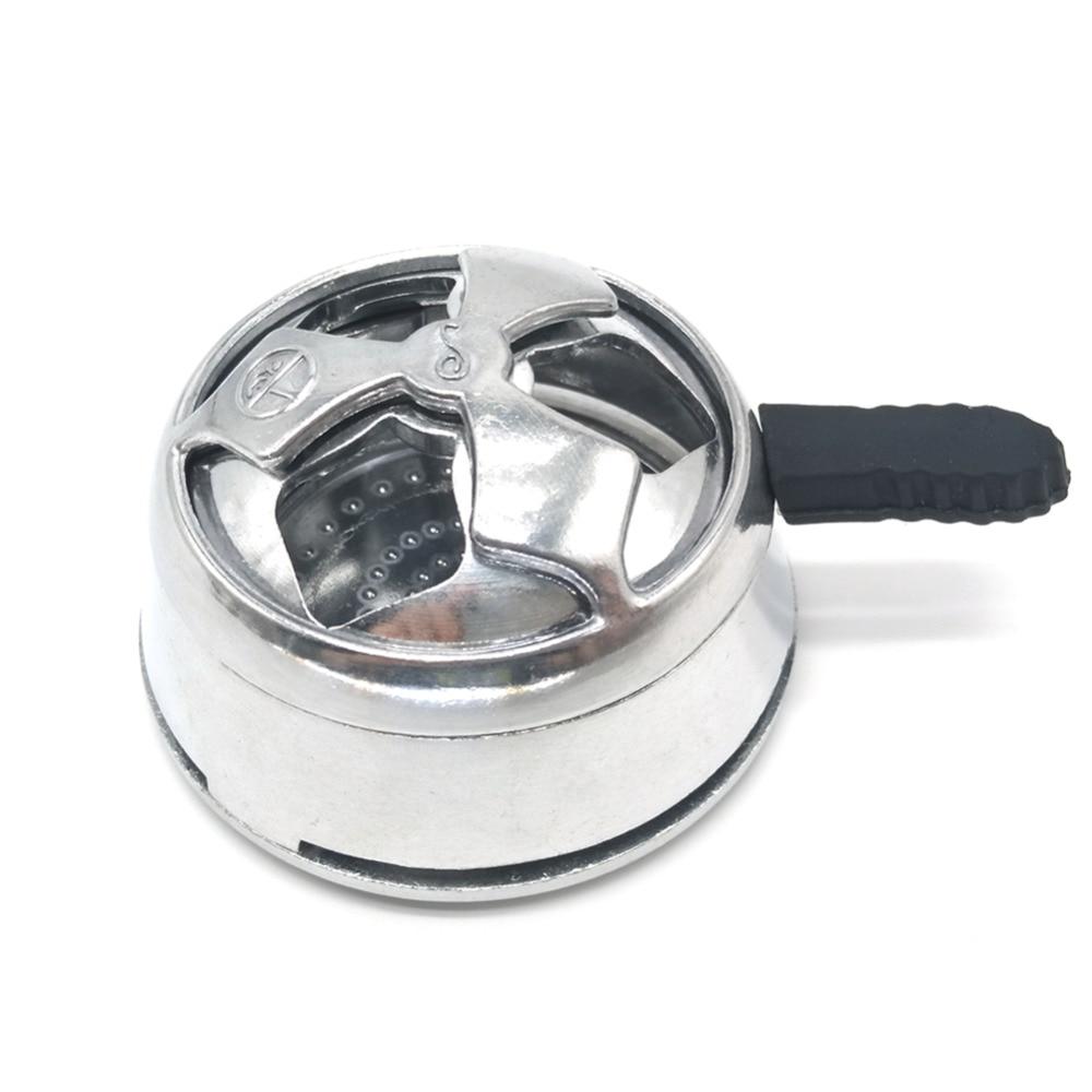 LOMINT Hookah kaloud Lotus Heat Keeper Heat Management Device Metal Charcoal Holder For  ...