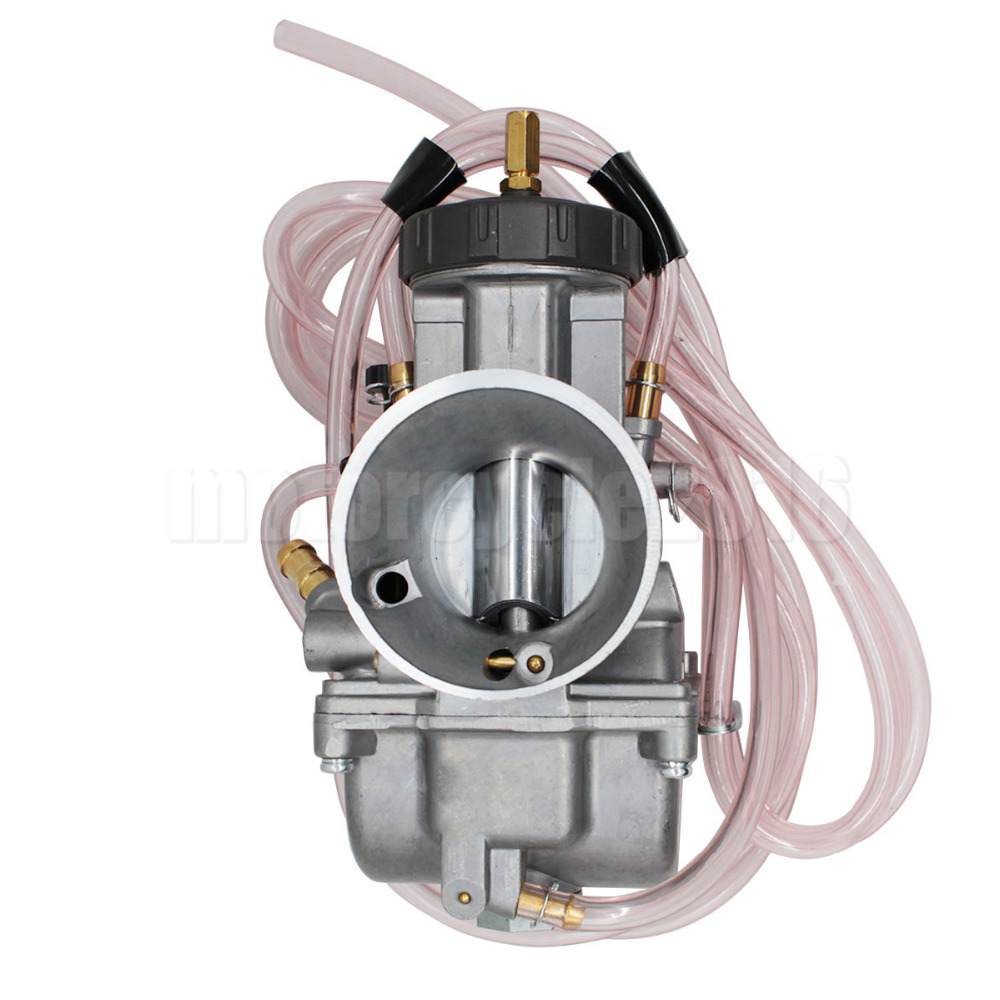 YSW Racing Aluminum 40MM PWK High Performance Carburetor Universal Power Jet Carb Used For Yamaha YZ 125CC-300CC 250 300CC carburetor xv250 xv125 qj250 aluminum carburetor assy for yamaha virago 125 xv 125 xv 250 xv 125 qj250 1990 2014