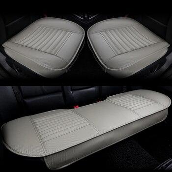 Pu leather Car seat covers, side full cover car seat cushion pad mat for PASSATTIGUAN Polo SANTANA Gran Lavida CROSS Lamando