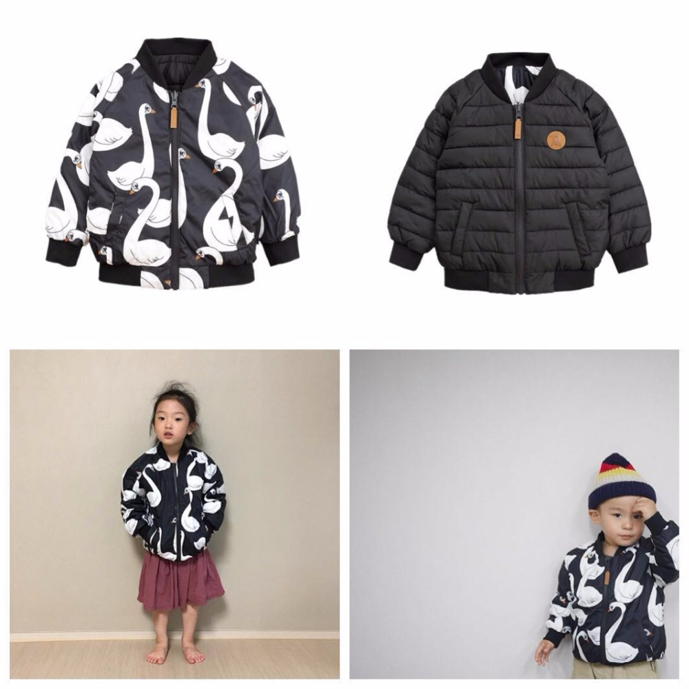 2018 INS HOT KIDS goose DOWN COAT christmas gifts BOYS CLOTHING GIRLS CLOTHING VESTIDOS children clothing kids 2 sides 2018 autumn winter boys clothing girls clothing vestidos beau loves new christmas kids clothes children jacket coat down