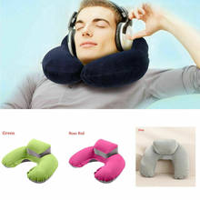1pc U-shaped Neck Pillow Memory Foam Car travel air plane home Pillow Neck Head Support Office Cushion Comfortable Travel Pillow(China)