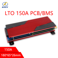 Bateria LTO BMS 5S/10 S/15 S/20 S/30 S/35 S 150A 200A bateria litowo tytanowa płyta ochronna BMS PCM do akumulatora LTO w Akcesoria do baterii od Elektronika użytkowa na