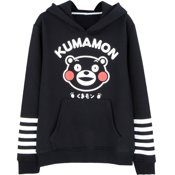 Anime Kumamon Unisex Cosplay Autumn and Winter Hoodie Coat High Quality+Free Shipping G