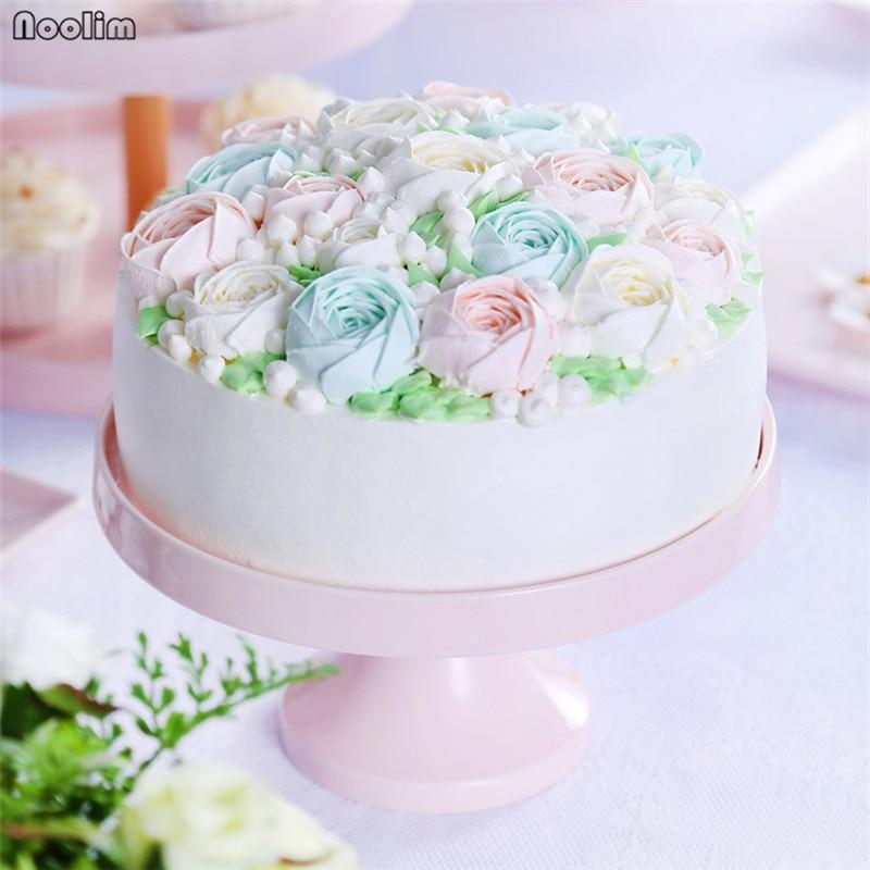 Ceramic Round Cake Stand Snack Dessert Holder Cupcake Candy