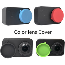 Silicone Protective Lens Cover ScrapeProof Protector Lens Cap Case For Xiaomi Mijia 4K Mini Camera Action Camera Accessories Set