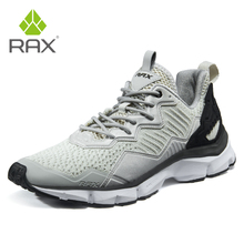 RAX Man Outdoor Running Shoes Breathable Sports Sneakers for Men Light Gym Running Shoes Male Trekking Shoes Outdoor Walking men professional outdoor walking shoes male waterproof breathable walking boots dockers trekking traveling shoes mens sneakers
