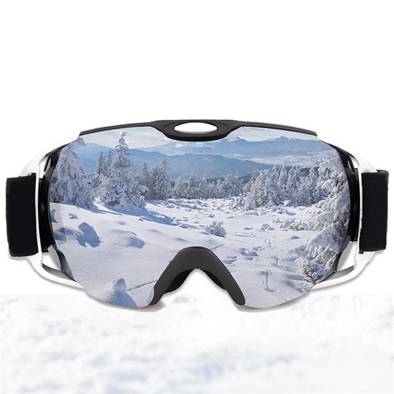 Зимние лобовое стекло Сноуборд горнолыжные Очки Горных Альпийских лыжные очки Сноубординг Sci