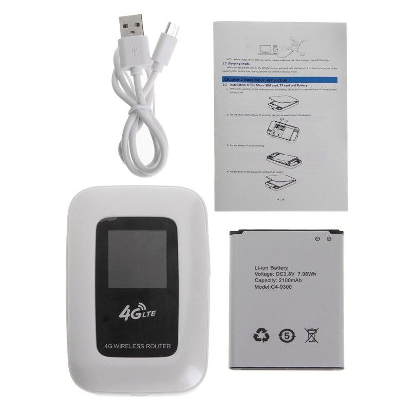 Routeur WiFi 4G Mini WiFi sans fil 4G avec emplacement pour carte SIM