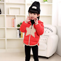 2017 Brand New Autumn Winter Boy Girl Coat Children's Clothing Star Print High Quality Warm Down Kids Coat 7 Color