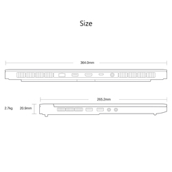 Oryginalny Xiao mi mi Ga mi ng laptopa Windows 10 Intel Core i7-8750 H 16GB pamięci RAM 512GB SSD HD mi Notebook typu C Bluetooth 4