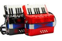17 chave de 8 baixo acordeão criança instrumento Musical