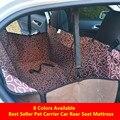 Tampa de Assento Do Carro para Animais de Estimação à prova d' água Oxford Pano Pet Portador Do Cão Car Rear Seat Cover Hammock Cushion 122x40x38 cm Acessórios Para Animais de Estimação