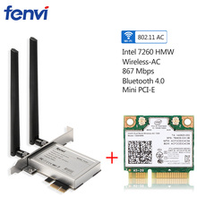 Dual Band 867Mbps Wireless Wifi Network Card For Intel 7260
