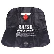 SEWS 10L Camping Hiking Solar Heated Camp Shower Bag Outdoor Shower Water Bag