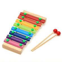 baby toy piano baby hand knock Percussion 8 Note small Musical Instruments good gift fo rkids