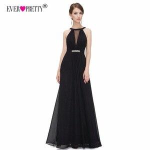 Image 5 - Hiç Pretty mor akşam elbiseler ucuz bir çizgi seksi boncuk See Through taklidi siyah örgün parti törenlerinde 2018 EP09995