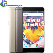 Новые Оригинальные Oneplus 3 T 6 ГБ 64 ГБ Snapdragon 821 Quad Core 5.5 «Android 7.0 NFC 16MP Отпечатков Пальцев один плюс 3 Т 4 Г LTE Мобильный Телефон