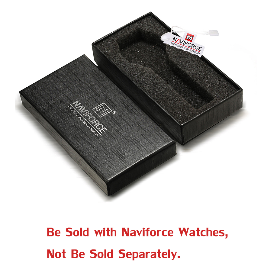 NAVIFORCE PAPER GIFT ORIGINAL WATCH BOX wf0120 portable usb power supply triple socket usb car charger with 12v 24v output black