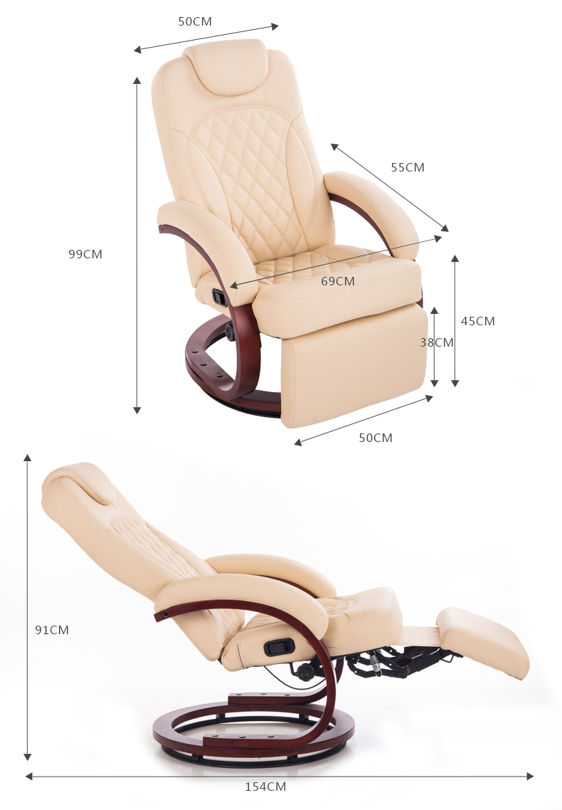Massage hairdressing chair chaise longue lazy chair for Hairdressing chairs