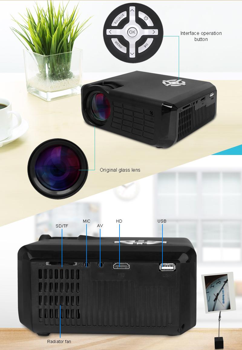 M17 Mini Projector Full HD (4)