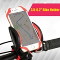 Bike autobike Phone Holder motorcycle scooter autocycle Cell Mount Bicycle GPS Rotate Stand for Samsung S7 S6 edge S5 S3 S8 Plus