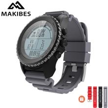 Дешевые Оригинальный Makibes G07 IP68 водостойкой gps Смарт спортивные часы Bluetooth здоровья трекер Smart часы динамический монитор сердечного ритма
