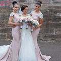 Cap Sleeve Jewel Long Mermaid Bridesmaid Dresses Elegant Backless Wedding Guest Dresses Prom formal Dresses   Z717