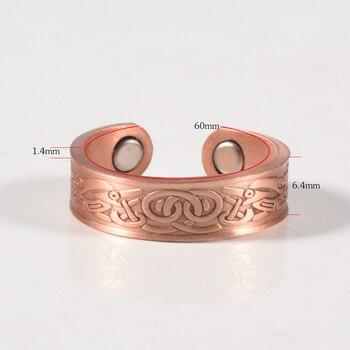 Bracelet Cuivre Magnetique Anti Douleurs Stress