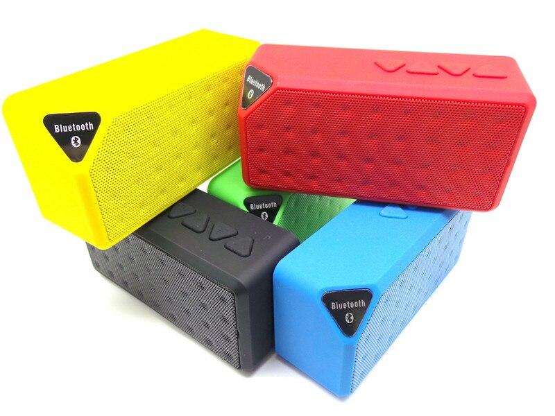 Mini altavoz bluetooth estilo de moda inalámbrico portátil de - Audio y video portátil - foto 2