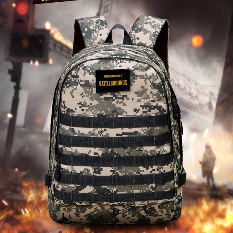 Hot Game PUBG Backpack Cosplay Game Playerunknown's Battlegrounds Level 3 Instructor Backpack Outdoor Large Capacity Backpack