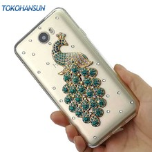 Tokohansun Rhinestone Crystal Case for Huawei Y5 II Case Y6 2II GW P8 Lite P9 Honor 8 Lite Cover Bling Diamond Silicone Bumper