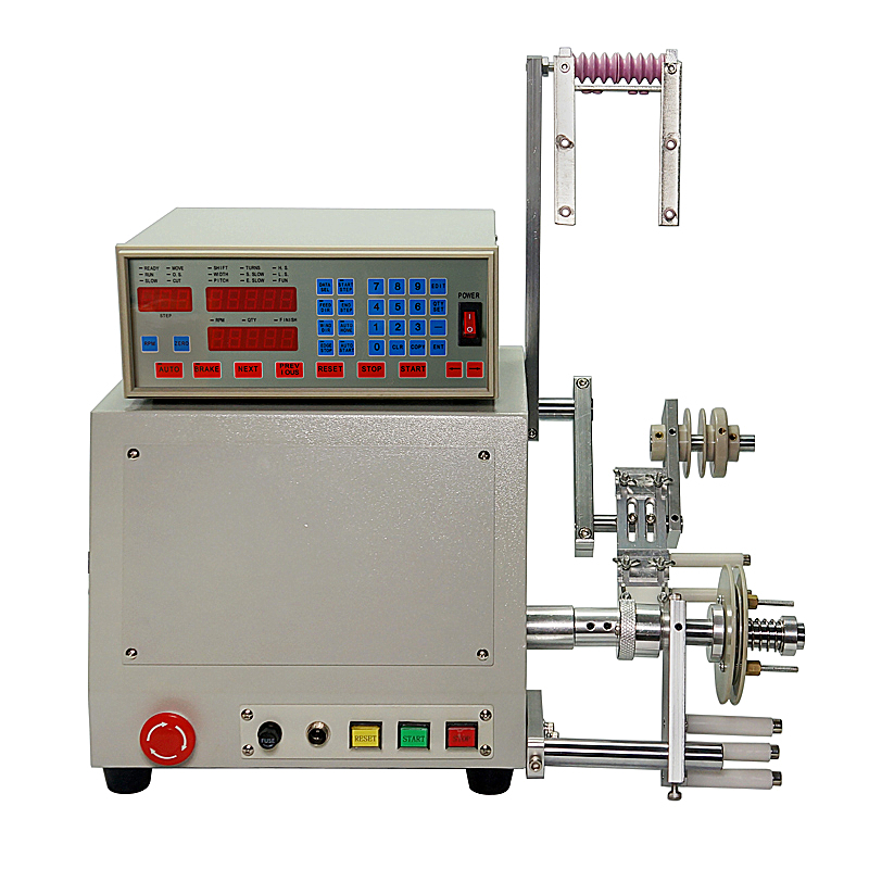 New <font><b>LY</b></font> <font><b>810</b></font> High quality Computer C Automatic Coil Winder Winding Machine 400w for 0.03-1.2mm wire image