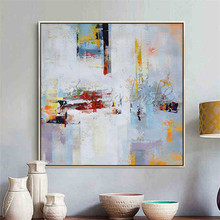 Hand painted canvas oil paintings Cheap large modern abstract cuadros Home decor Canvas quadro wall Art pictures 000016