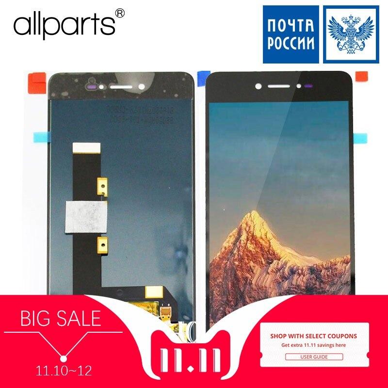 5.0 AMOLED LCD D'origine Pour Highscreen Razar Affichage à L'écran Tactile Digitizer Pour Highscreen Razar Pro LCD Affichage Remplacement