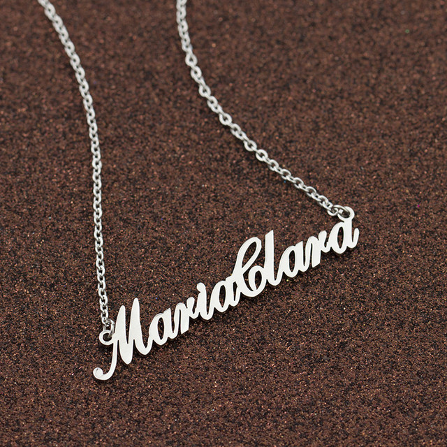 Personalized Nameplate Necklace  3