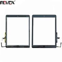 NIEUWE Touchscreen Digitizer Voor iPad 5 Voor ipad Air 1 A1474 A1475 TP IC met Home Knop en Lijm Voor Glas vervanging