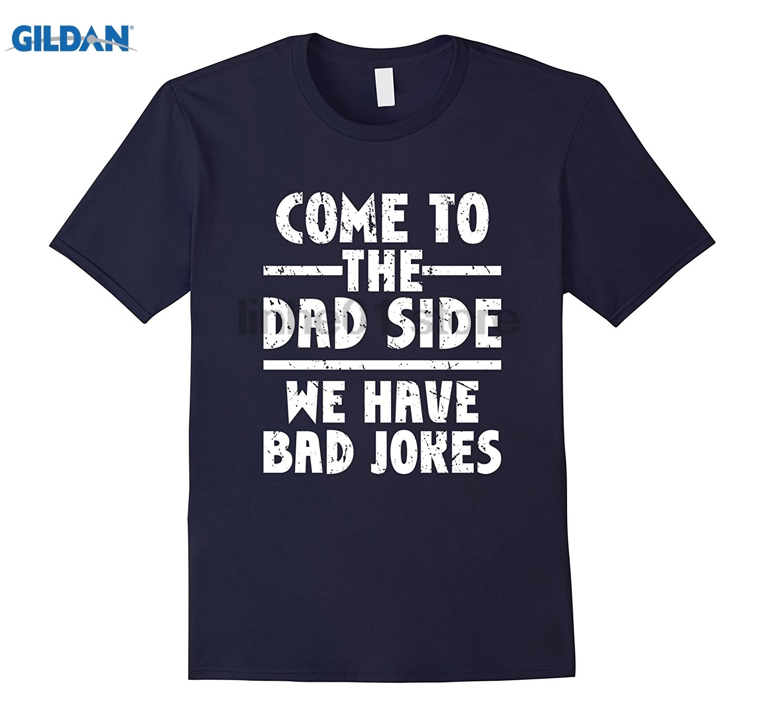 GILDAN Mens Come To The Dad Side We Have Bad Jokes T Shirt Funny Saying Mothers Day Ms. T-shirt dress T-shirt