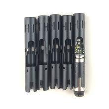 Yüksek Kaliteli Tamir Aksesuarları Siyah Alüminyum Metal Isıtma boru Dış için Uygun IQOS 2.4 Artı Düğme Isıtıcı Blade