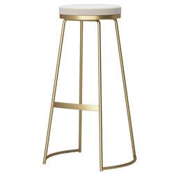 2018 новый стиль уникальный простой круглый железный стул с полым Сиденье Барный Стул 003