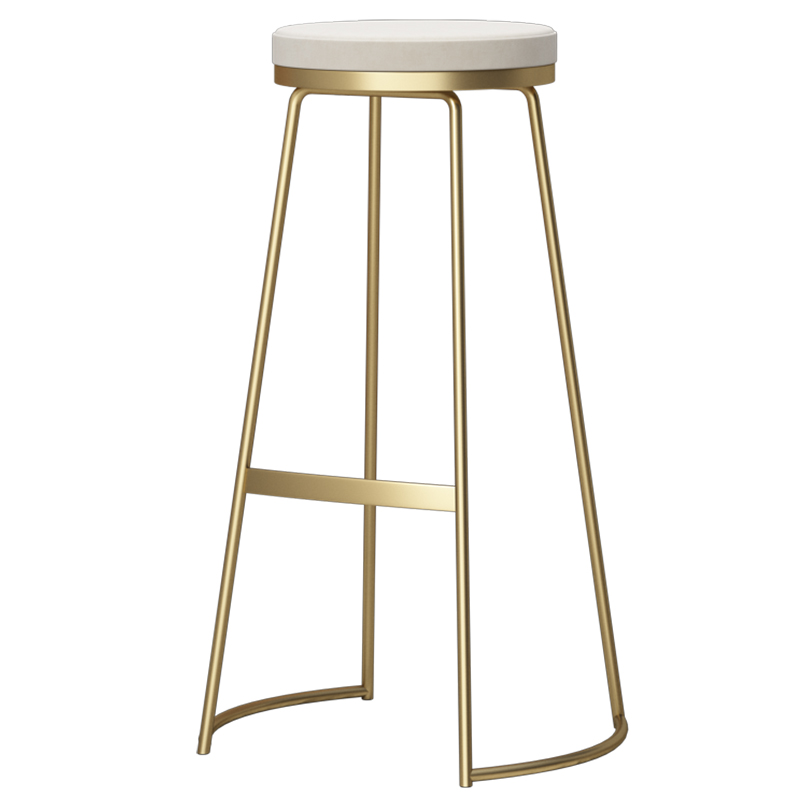 2018 new style  unique simple round  iron stool salon chair stool with hollow seat bar stool 0032018 new style  unique simple round  iron stool salon chair stool with hollow seat bar stool 003