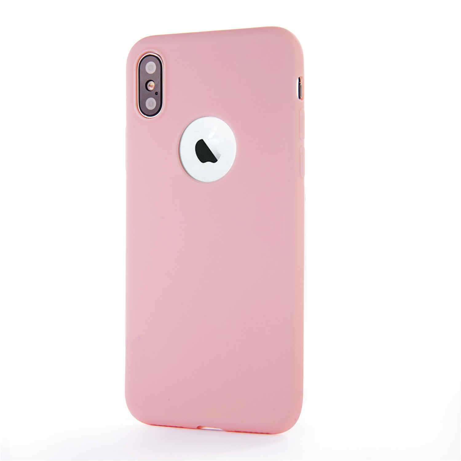 Cute Candy Colors Soft Silicone phone Case for iPhone 6 6S 7 8 Plus ...