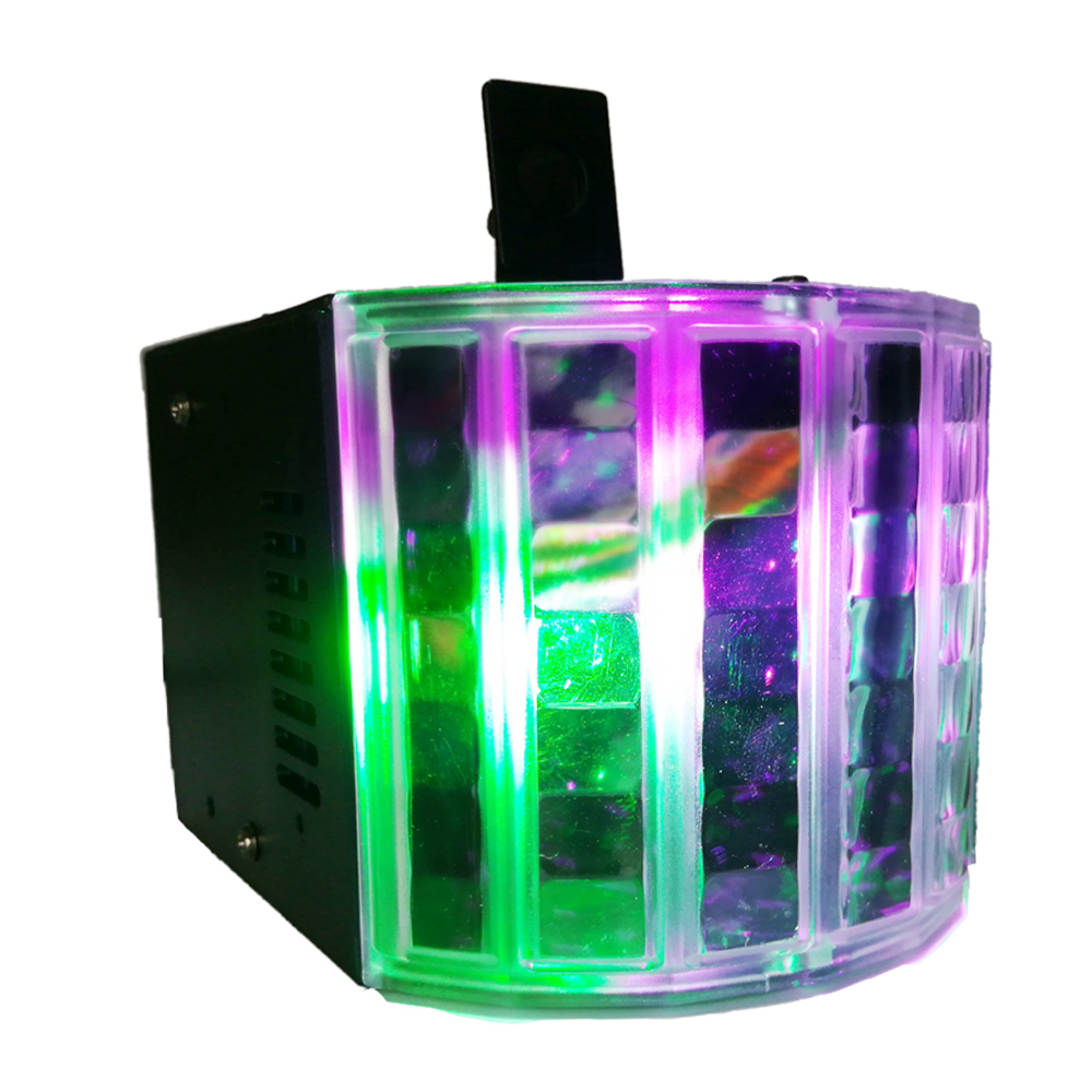 DJ lights 18W Color Changing RGB Sound Actived Magic Effect Led Stage Lights Three Control Modes With US Plug for KTV Xmas Party