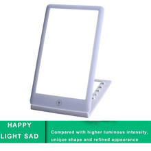 цена на 2019 HOT Happy touch Light 11000 Lux Bionic Sunlight SAD Light Natural Sunshine Therapy Lamp Improve Mood Healing Wellness Lamp